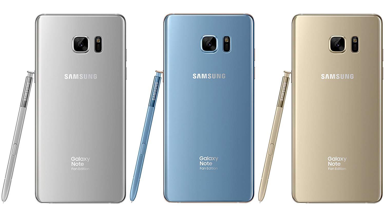 Samsung galaxy note FE in BD