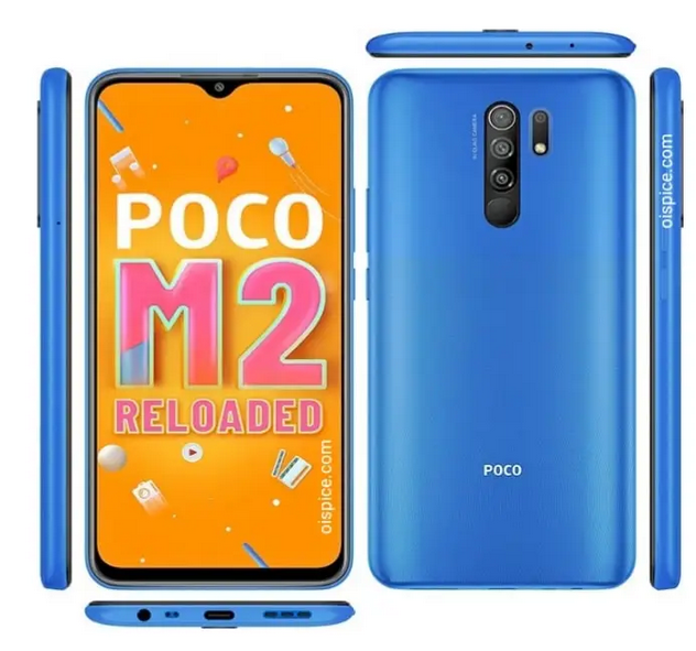 Xiaomi Poco M2 Reloaded price feature and reviews in bd