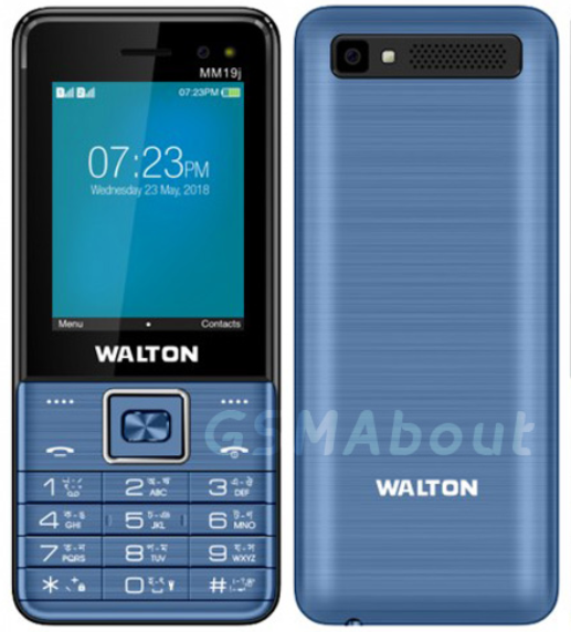 Walton Feature Phone MM19J price feature and reviews in bd